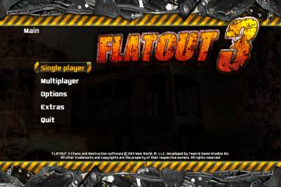 Скриншот игры: Flatout 3: Chaos & Destruction